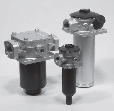 Returfilter tankmonterat - Hydac RFM 4-hole