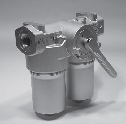 Duplexfilter 25-63 bar enligt DIN24550 - Hydac FLND