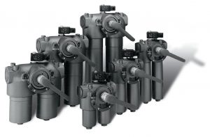 Duplexfilter DIN PI3700 från Filtration Group - tryckklass 200-315 bar