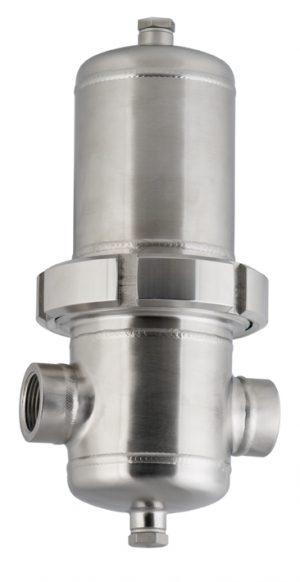 Tryckluftsfilter 16 bar rostfritt stål - OMEGA AIR WFIT-serien